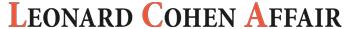 Leonard-cohen-affair.com